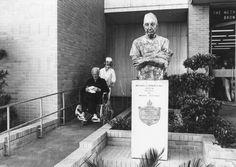 Nachlass Curd Jürgens   PR-Foto, Herzoperation Houston 1980, 5