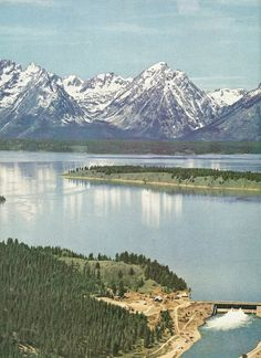 Tetons in Wyoming    National Geographic | June 1951