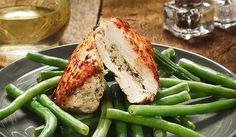 Stuffed Chicken Breast with Lemon Artichoke Pesto by Keri Glassman