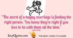 Happy Anniversary Quote - Julia Child 2 - (With Picture) Love Picture Quotes, Cute Love Pictures, Cute Love Quotes, Happy Marriage, Love And Marriage, Relationship Quotes, Relationships, Marriage Pictures, Happy Anniversary Quotes