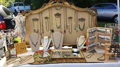 Carnelian Sol Designs at outdoor Art Fair 2014