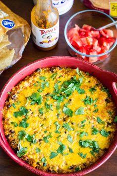 http://kendrastreats.com/2015/10/black-bean-and-quinoa-enchilada-casserole/