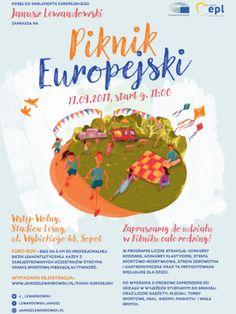 Piknik Europejski z Januszem Lewandowskim 17.09.17 od godz 11 na Stadionie Leśnym  w Sopocie