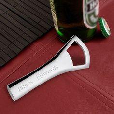 Silver Plated Bottle Opener