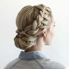 #peinado #trenza