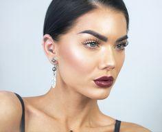 【ρinterest: ⚜ LizSanez✫☽】   //♡ Linda Hallberg Makeup - seductive