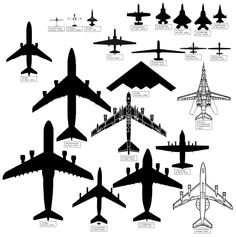 Aircraft Sizes – Air Force JourneyYou can find Military aircraft and more on our website.