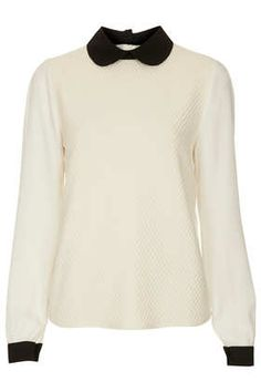 **Amy Textured Blouse by Jovonnista