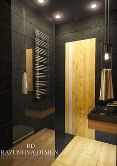Bagni Neri Moderni: 25 Foto di Progetti di Design