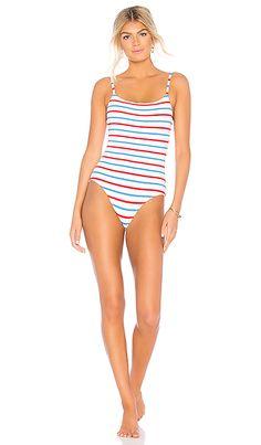 467a49eeaa6 Solid & Striped The Nina One Piece in American Breton | REVOLVE Summer  Beach, Designer