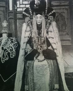A Khalkha Mongolian noblewoman (c.1908).