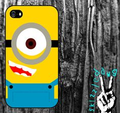 Minion Despicable Me Apple iPhone 4/4S and 5 Cell Phone Case Cover Original Trendy Stylish Design