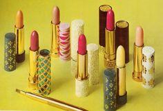 #TBT Vintage #Avon lipsticks from the 60's+70's.