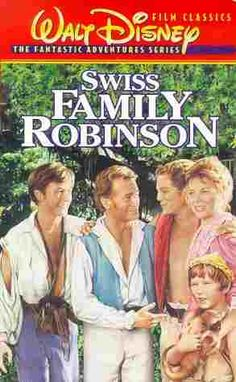 "Swiss Family Robinson ~ ""A family in route to New Guinea is shipwrecked on a deserted tropical island. They are forced to remain on the island because of the damage to the ship and the pirates that are roaming the islands. They create a home on the island (centering around a huge tree house)"""