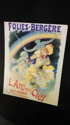 Check out this item in my Etsy shop https://www.etsy.com/listing/489733330/folies-bergere-larc-en-ciel-poster-print