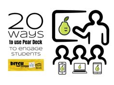 Pear Deck flips the traditional lecture by actively engaging students in real-time. Ask questions. Want to use Pear Deck in your class? The standard lecture has plenty of detractors, and rightfully so. Instructional Technology, Instructional Strategies, Teaching Technology, Educational Technology, Technology Lessons, Technology Tools, Educational Leadership, Mobile Technology, Problem Based Learning