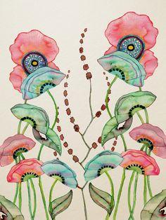 Wildlife in Inks & Watercolours: Photo