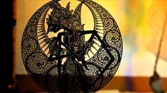 Indonesian Shadow Puppet