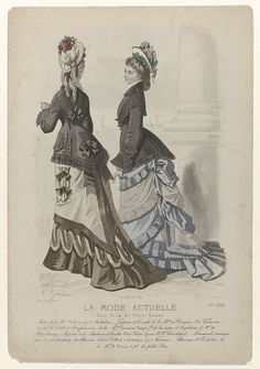 La Mode actuelle, 1875