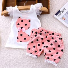 Polka Dot Baby Dress Cat Patch Work - Baby Clothes Best Picture For baby girl fashion frock For Your Cat Dresses, Little Girl Dresses, Little Girls, Girls Summer Outfits, Kids Outfits, Baby Outfits, Family Outfits, Toddler Girl Outfits, Toddler Girls
