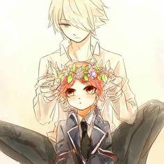 The Royal Tutor (Oushitsu Kyoushi Haine) #Anime #Manga Kai and Haine!!     Oushitsu Kyoushi Haine Cute Anime Boy, Anime Guys, Manga Anime, Anime Art, Royal Tutor, Kai, Otaku, Prince, Chicas Anime