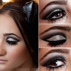 One of our favourite Makeup Artists @Vegas_nay has created this amazing smokey eye using Masquerade Cosmetics.
