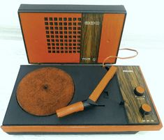 Philips GF-300 Portable Record Player...By Space Age Antique...