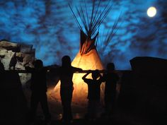 """paintings of historical and romanticised american indians and their life 