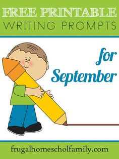 FREE September Writing Prompts & Journaling Pages