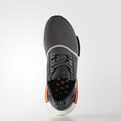 220cd4114445a adidas - Chaussure NMD R1 Dark Grey Dark Grey Semi Solar Red S31510