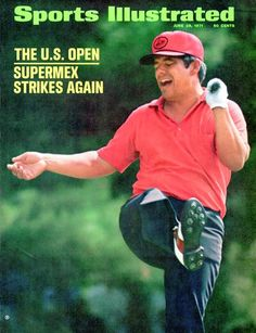 The 1971 U.S. Open - Golf, Lee Trevino June, 28 1971