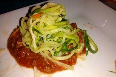 Fideos de Zapallitos italianos y zanahorias - cookcina