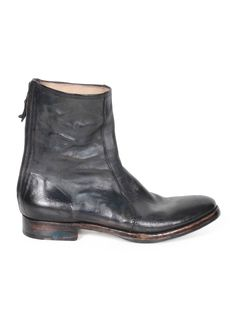 52b0160a513 PREMIATA Men s Leather Boots - Black - serie
