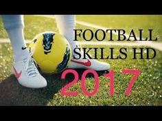 Craziest Football skills & tricks - 2017 HD - YouTube Soccer Ball, Football, Amp, Watch, Videos, Youtube, Sports, Hs Football, Clock