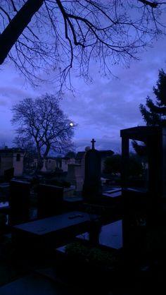 Montparnasse in blue