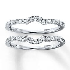 Diamond Wedding Band Set 3/8 ct tw Round-cut 14K White Gold  ... Wedding ideas for brides, grooms, parents & planners ... https://itunes.apple.com/us/app/the-gold-wedding-planner/id498112599?ls=1=8 ... plus how to organise your entire wedding ... The Gold Wedding Planner iPhone App ♥