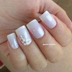 29 Fotos de Unhas decoradas com adesivos Fabulous Nails, Gorgeous Nails, Pretty Nails, Classy Nail Designs, Diy Nail Designs, Purple Nails, White Nails, Gel Nail Art, Acrylic Nails