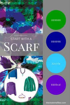 How to build a capsule wardrobe by starting with a scarf - The Hope Scarf by KathKath