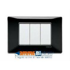 Placca 3 posti Vimar Plana Nera: qualità e dettagli ad un prezzo contenuto.  acquistale dal nostro sito  http://www.emmebistore.com/materiale_elettrico_online/1777-placca-3-moduli-nero-vimar-plana-1465305.html  #vimar #placche #plana