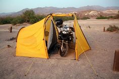 Redverz Gear Tents  -  Redverz Gear put the comfort back into camping with the Tenere Expedition Tent, and the new Series II Expedition Tent adds to the appeal of the original design which shelters riders, motorbikes and gear in comfort, out of the elements and under one roof.