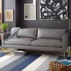 Highline Leather Sofa | west elm