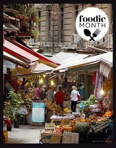 This is one for the list, Palermo, Italy, Foodie market paradise!