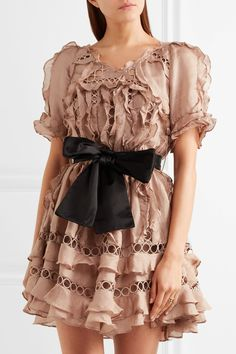 Tweed Rose: MUST HAVE SS'17: Zimmermann's 'Winsome' mini dress