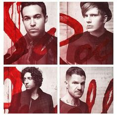 Fall Out Boy. Pete Wentz, Patrick Stump, Joe Trohman, Andy Hurley