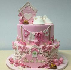 Cupcakes, Cupcake Cookies, Baby Girl Cakes, Sugar Craft, Cakes And More, Baby Shower Cakes, Amazing Cakes, Cake Pops, Fondant