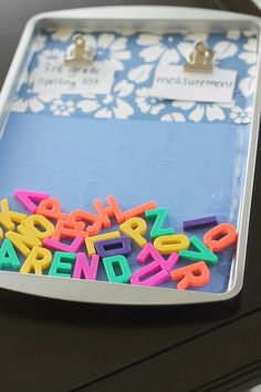 Dollar Tree Spelling Practice Board (Perfect For Summer Traveling) 3rd Grade Spelling Words, Spelling Practice, Spelling Activities, Listening Activities, Fun Summer Activities, Bilingual Education, Frugal Living Tips, Project Yourself, Easy Projects