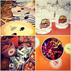 Wild Kratts Birthday Ideas!