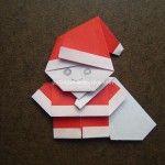 Origami Instruction Santa with Bag