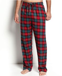 Plaid and flannel? Oh, he'd go nuts Flannel Pajama Pants, Plaid Flannel, Plaid Outfits, Casual Outfits, Mens Christmas Pajamas, Mens Pjs, Pyjamas, Country Attire, This Is Your Life