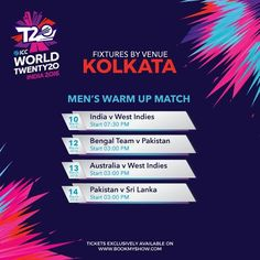 Watch quality players warm up at the #EdenGardens for the big stage! #WT20 #T20withBMS  Book your tickets!
